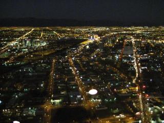 ストラトスフィアタワー夜景