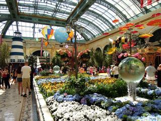 ベラージオホテル夏の植物園