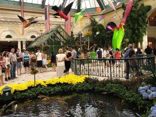 ベラージオ 夏の植物園