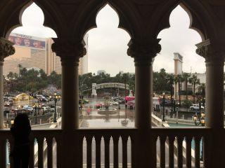 ラスベガス4ヶ月ぶりの雨