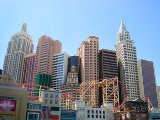 ニューヨークニューヨークVRコースター